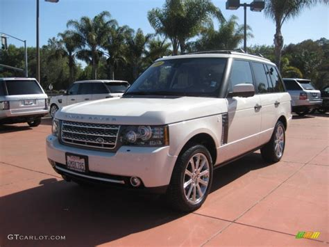 land rover supercharged white 2010 alaska white land rover range rover supercharged