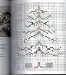 beaded christmas tree pg 2 of 4 cross stitch pinterest