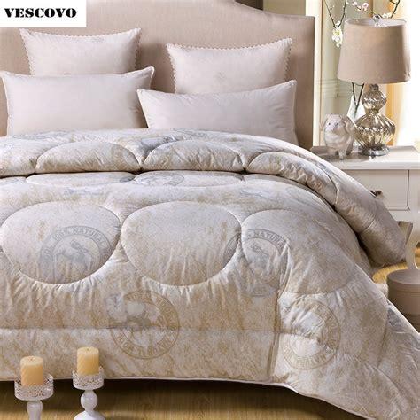 wool comforters 2017 blanket woolcomforter doona edredon thick blanket