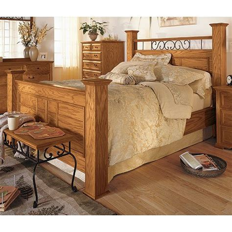 thornwood king panel bed rc willey furniture store