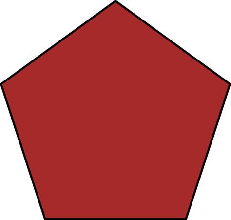 pentagon clip at clker vector clip
