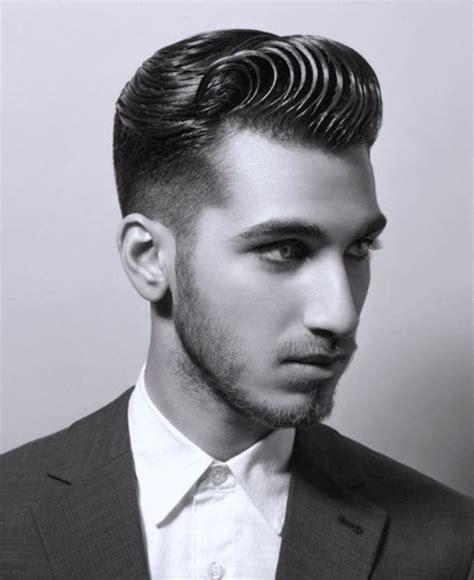 mens haircuts vintage wavy pompadour men s grooming pinterest pompadour