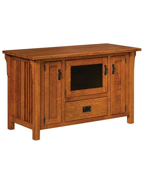 amish mission rustic tv stand plasma flat screen cabinet mission furniture home interior design