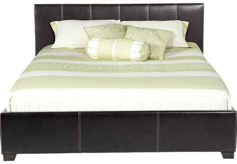 bed image belfair brown 3 pc queen bed beds dark wood