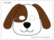dog mask printable templates amp coloring pages firstpalette