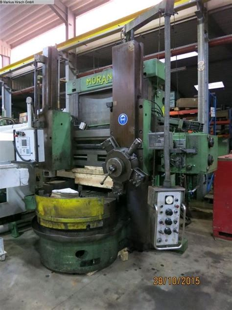 Lathes Morando Kl 12 Vertical Turret Lathe Single Column