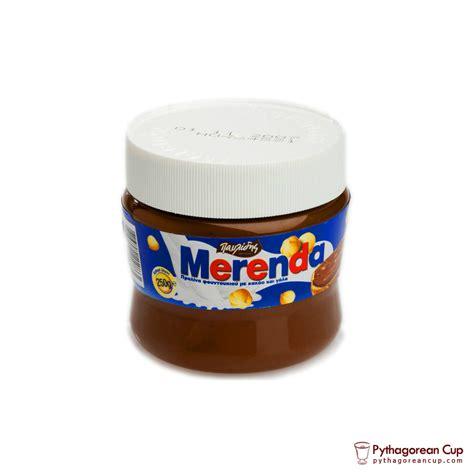 Chocolate spread Merenda ? 250gr   Pythagorean Cup