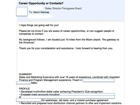 Email Resume Sle Message optimus 5 search image email resume message