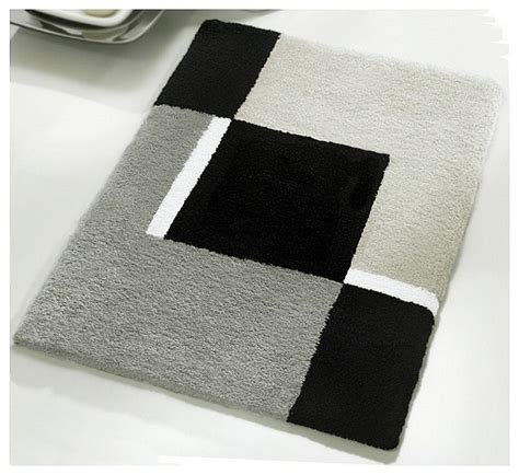 Small Rugs For Bathroom Small Bath Rug Modern Anti Skid Bathroom Rug Grey 21 7 Quot X 25 6 Quot Modern Bath Mats
