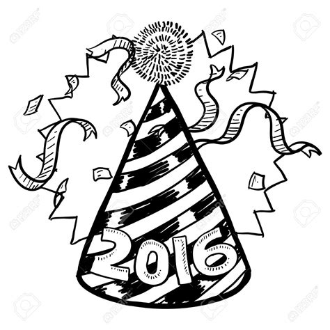 new year clipart black and white black and white new year clip merry and