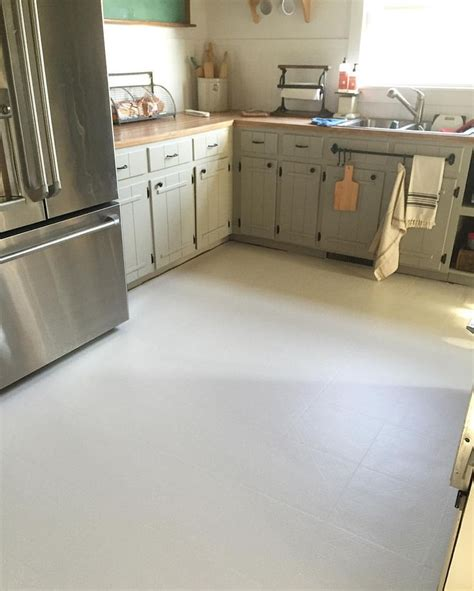 Kitchen Floor Paint Ideas 25 Best Ideas About Linoleum Kitchen Floors On Painted Linoleum Painted Kitchen