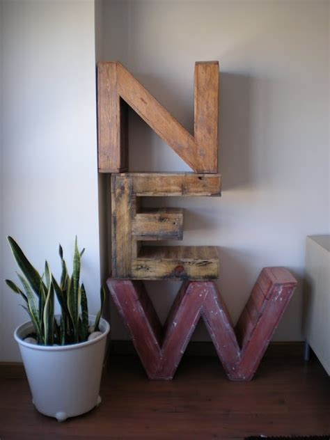 pallet pattern in spanish 71 best images about diy letters on pinterest