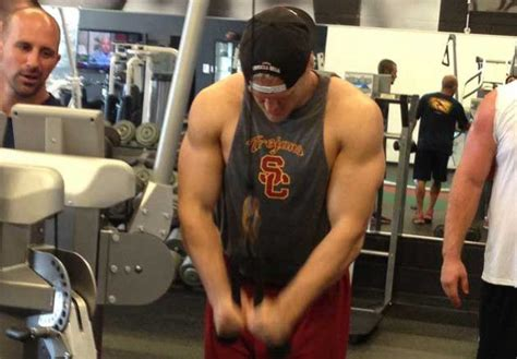 clay matthews bench press the clay matthews workout