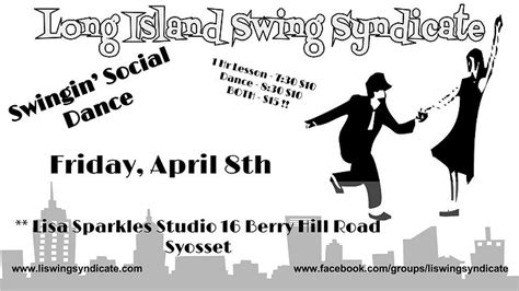 swing dance lessons long island swingin social dance