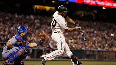 home run de bumgarner giants vencem mets