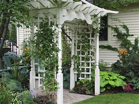 Arbor Garden Nursery How To Build An Arbor On An Uneven Surface Ehow Uk