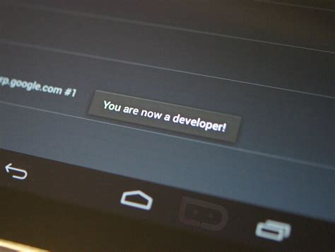 Android developer options click for details android how to enable