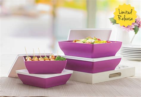 Tupperware Purple Ichigo purple ichigo set tupperware katalog promo tupperware