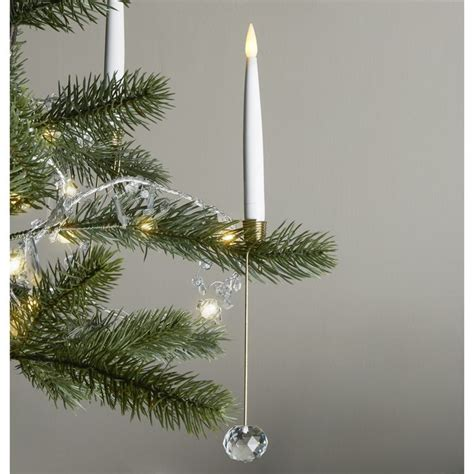 luminara christmas tree strand candles lights decor flameless candles flameless taper candles noelle flameless taper