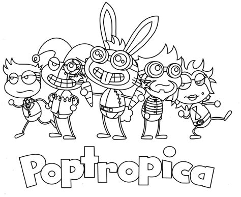 Poptropica Coloring Pages poptropica free coloring pages