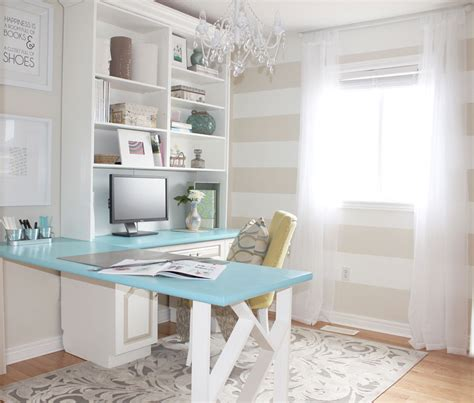 diy home office makeover sayeh pezeshki la brand logo sabrina s bright cozy and a dash of glam home office