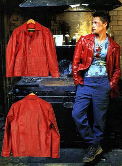 brad pitt fight club jacket brad pitt fight club leather jacket leathercult com