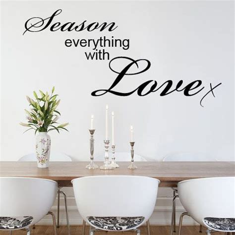 wall word stickers season everything with kitchen word wall sticker decals