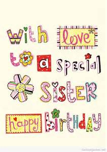 with love to a special sister happy birthday pictures