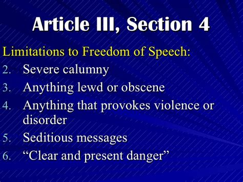 article iv section 4 the philippine bill of rights civil rights