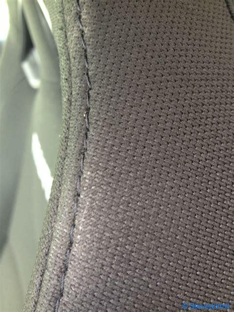 recaro upholstery fabric seat belt wear on cloth recaro seats at 11k miles the