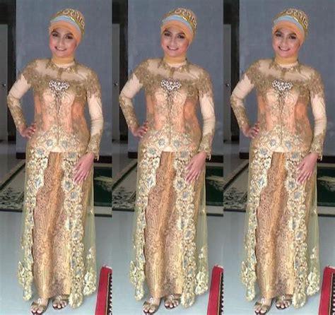 Baju Muslim Brokat Anak Muda 15 model kebaya gamis brokat modern trend anak muda