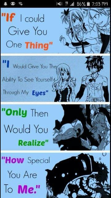 mensajes subliminales fairy tail if only you could see anime manga pinterest universo