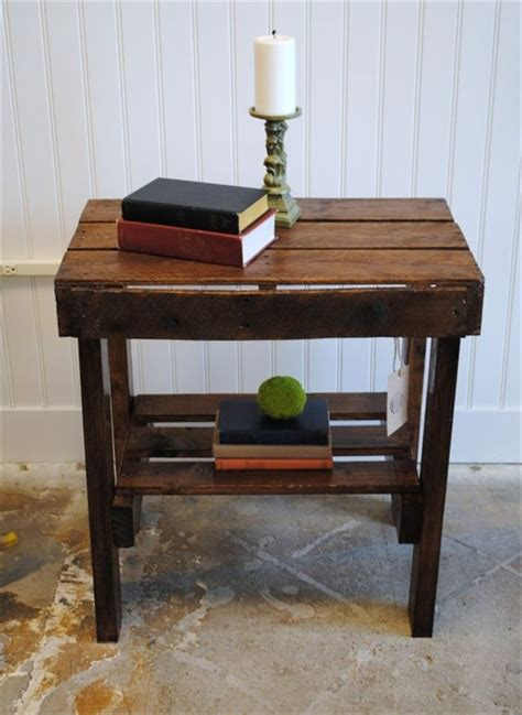 end table ideas appreciating ideas for a perfect pallet end table 101
