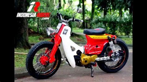 Karet Ganjal Stang Honda C70 Pitung 79 modifikasi honda c70 streetcup modif terbaru modifikasi motor astrea grand