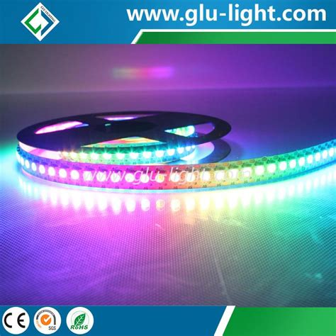 Lu Led Apa china factory price 5vdc rgb magic 60 leds m apa102 5050 led manufacturers and suppliers