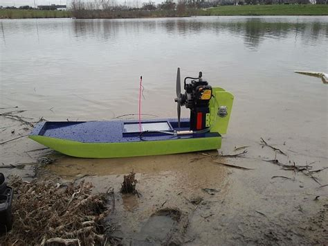 air boat rc rc airboat gas powered rtr id 899701
