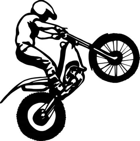 how to wheelie a motocross bike wheelie free colouring pages