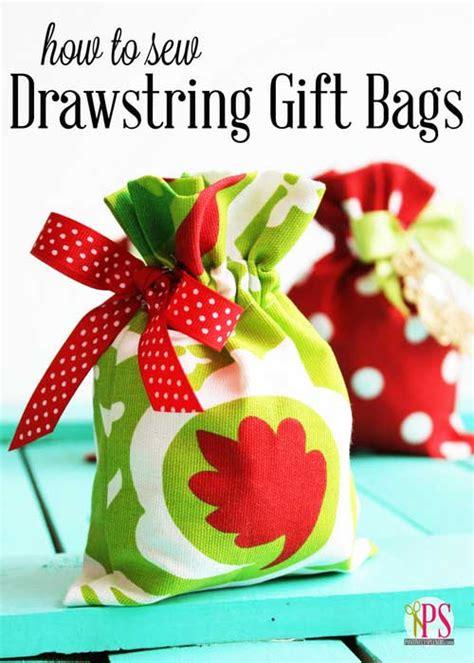 drawstring gift bags drawstring gift bags free sewing tutorial