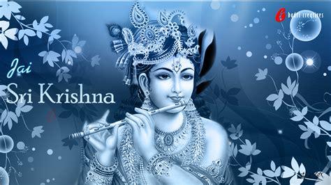 blue krishna wallpaper lord sri krishna hq wallpaper devotional wallpapers