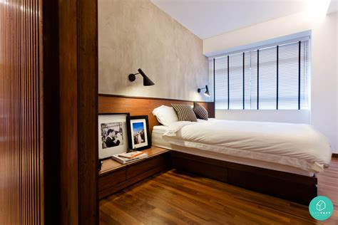 Bedroom Design Ideas Hdb Scandustrial Theme 6 Homes That Achieved This Look