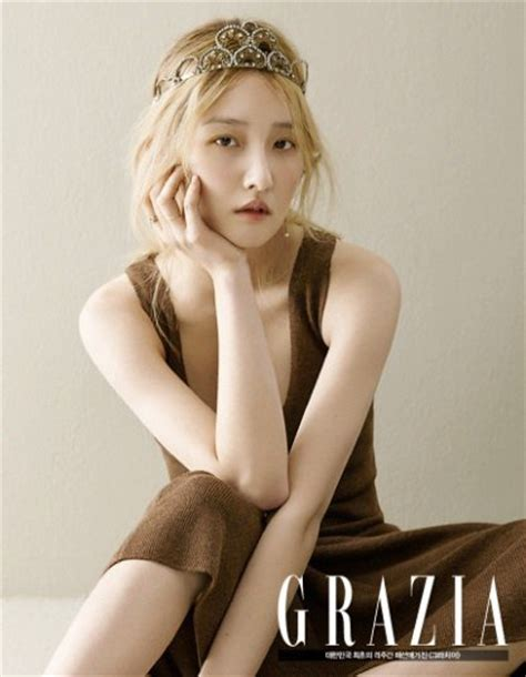 Exudes by 4minute S Jihyun Exudes Natural Beauty For Grazia Soompi