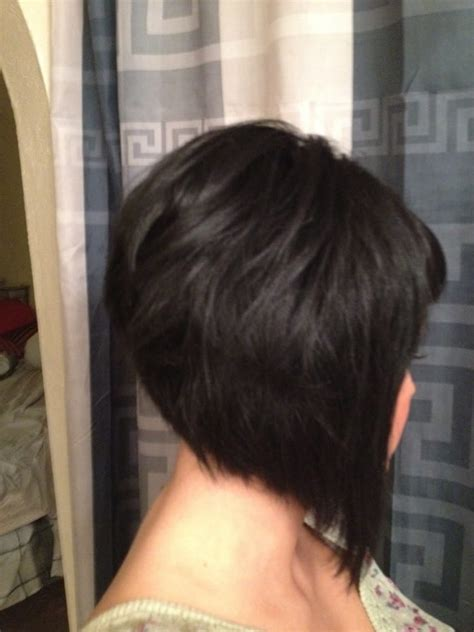 stacked a line haircut yelp new haircut how i style my asymmetrical a line bob