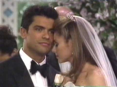 mark consuelos kelly ripa kiss all my children hayley and mateo wedding