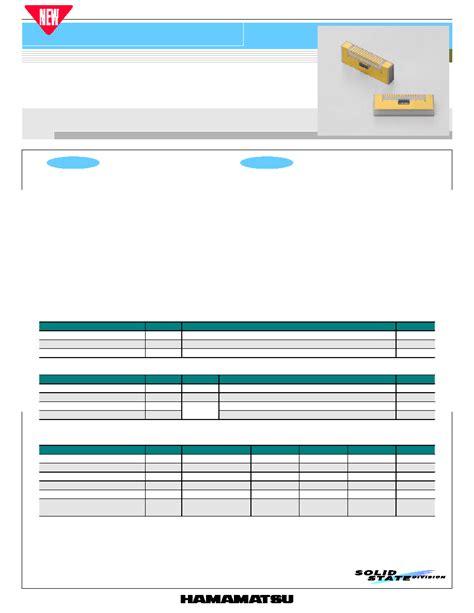 photodiode gaas g8921 01 hamamatsu gaas pin photodiode array html datasheet