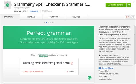 chrome grammarly favorite chrome extension for writing grammarly