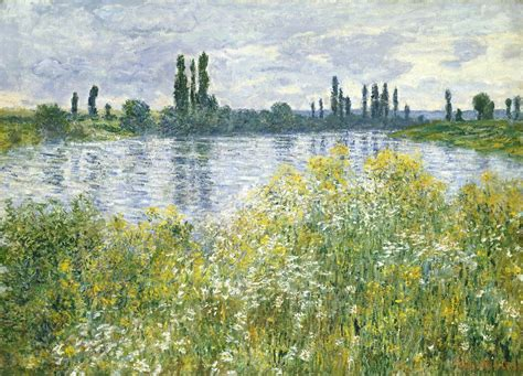 on the banks of the seine claude monet banks of the seine v 233 theuil 1880 artsy