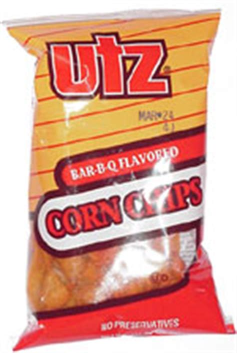 utz bar   flavored corn chips