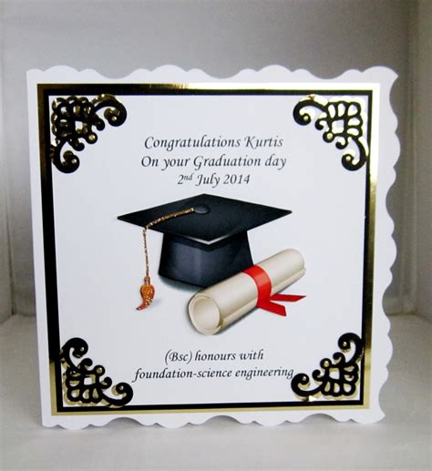 Graduation Handmade Cards - wedding anniversary engagement graduation handmade cards