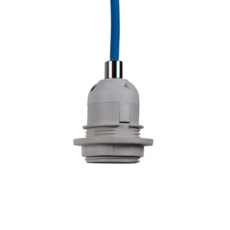 trendy blue braided cable ceiling light suspension flex ebay