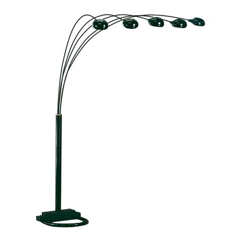 Home Library Ideas by Bernards 6015 Black Spider Lamp With 3 Way Switch Atg Stores